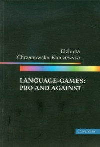 Language games: Pro and against - okładka książki