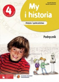 okładka podręcznika - My i historia. Historia i społeczeństwo.