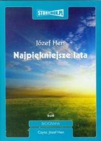 Najpiękniejsze lata - Józef Hen - pudełko audiobooku