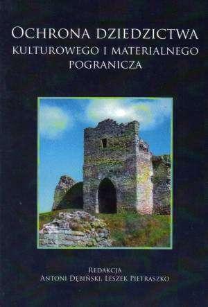 Ochrona dziedzictwa kulturowego - okładka książki