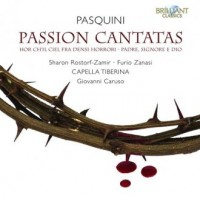 Pasquini: Passion cantatas (CD) - okładka płyty