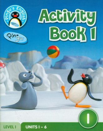 Pingus English. Activity Book 1. - okładka podręcznika