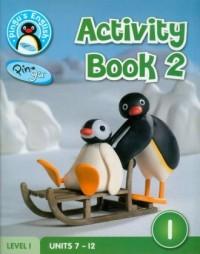Pingus English. Activity Book 2. Level 1 - okładka podręcznika