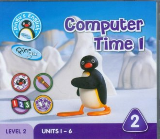 Pingus English. Computer Time 1. - okładka podręcznika