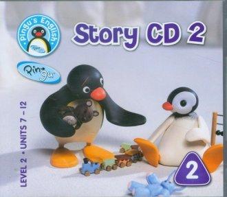 Pingus English. Story 2. Level - okładka podręcznika
