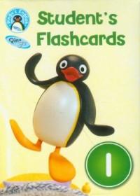 Pingus English. Students Flashcards. Level 1 - okładka podręcznika