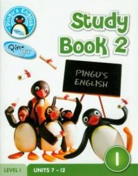 Pingus English. Study Book 2. Level 1 - okładka podręcznika
