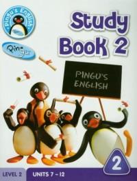 Pingus English. Study Book 2. Level 2 - okładka podręcznika