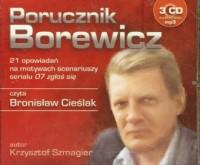 Porucznik Borewicz. Czyta: Bronisław Cieślak (3 CD mp3) - pudełko audiobooku