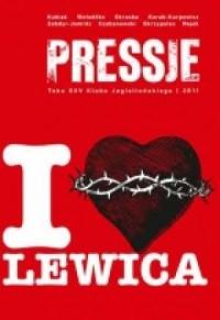 Pressje (25). I love lewica - okładka książki