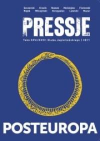 Pressje (26-27). Posteuropa - okładka książki