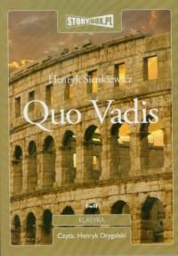 Quo vadis - Henryk Sienkiewicz - pudełko audiobooku
