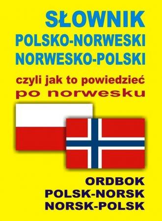 Słownik polsko-norweski, norwesko-polski - okładka książki
