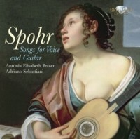 Spohr: Songs for Voice and Guitar (CD) - okładka płyty
