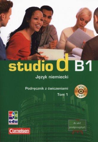 Studio d B1. Język niemiecki. Podręcznik - okładka podręcznika