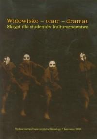 Widowisko - teatr - dramat - okładka książki