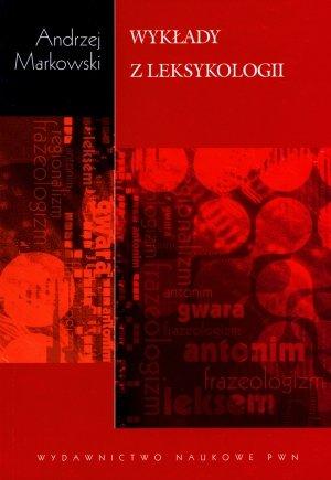 Wykłady z leksykologii - okładka książki