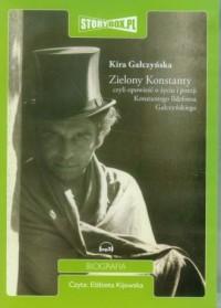 Zielony Konstanty - Kira Gałczyńska - pudełko audiobooku