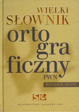 ksi��ka -  Wielki s�ownik ortograficzny PWN (+ CD) - Wydawnictwo Naukowe PWN