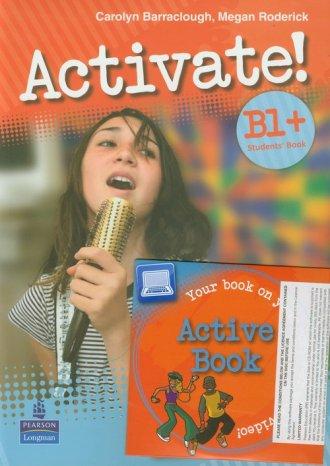 Activate! B1. Student s Book plus - okładka podręcznika