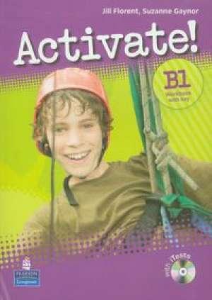 Activate B1. Workbook with key - okładka podręcznika