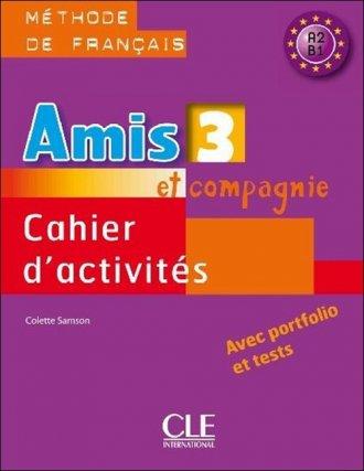 Amis et compagnie 3. Zeszyt ćwiczeń - okładka podręcznika