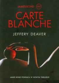 Carte Blanche - okładka książki