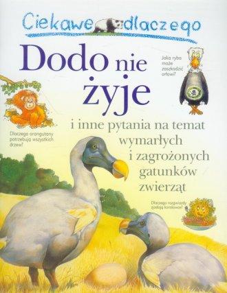 Ciekawe dlaczego Dodo nie żyje - okładka książki