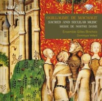 De Machaut: Sacred and secular music (3 CD + CD-ROM) - okładka płyty