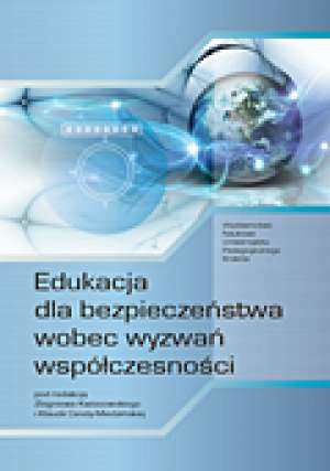 Edukacja dla bezpieczeństwa wobec - okładka książki