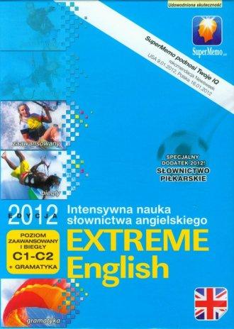Extreme English 2012. Poziom zaawansowany - pudełko programu