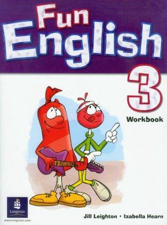 Fun English 3 Workbook - okładka podręcznika