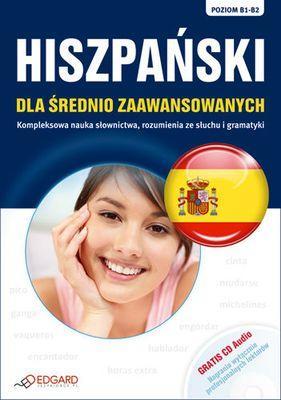Hiszpański dla średnio zaawansowanych - okładka podręcznika