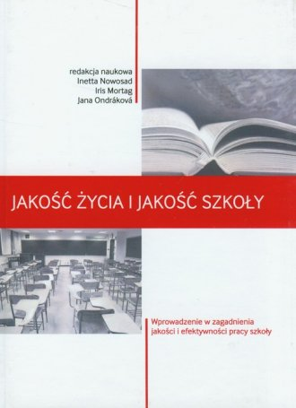 Jakość życia i jakość szkoły - okładka książki