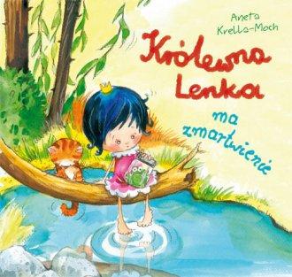 Królewna Lenka ma zmartwienie - okładka książki