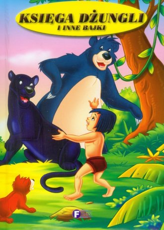Księga dżungli i inne bajki - okładka książki
