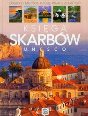 Księga skarbów UNESCO - okładka książki