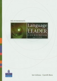 Language Leader Pre-Intermediate - okładka podręcznika
