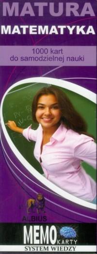 Matura, matematyka. Memo karty - okładka podręcznika