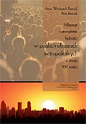 Migracje wewnętrzne ludności w - okładka książki