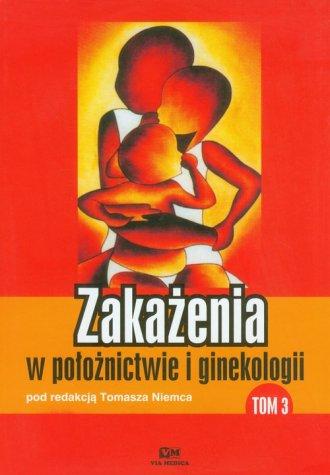Zakażenia w położnictwie i ginekologii. - okładka książki