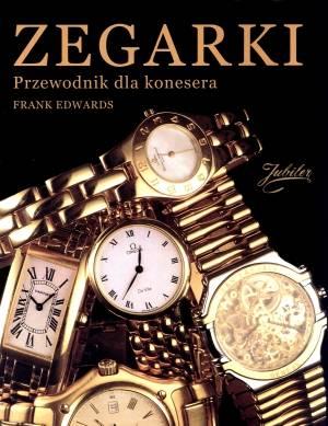 Zegarki. Przewodnik dla konesera - okładka książki