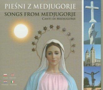 p�yta, muzyka - Pie�ni z Medjugorje (CD) - Wydawnictwo Divine Mercy