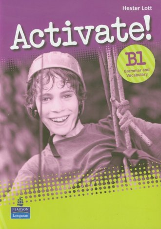 Activate! B1. Grammar and Vacabulary - okładka podręcznika
