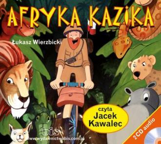 Afryka Kazika - pudełko audiobooku