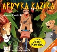 Afryka Kazika - Łukasz Wierzbicki - pudełko audiobooku