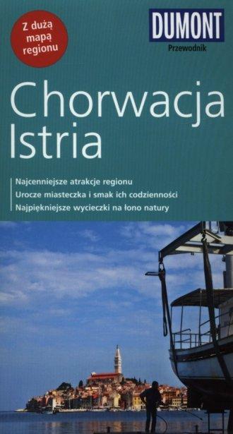 Chorwacja Istria. Przewodnik - okładka książki