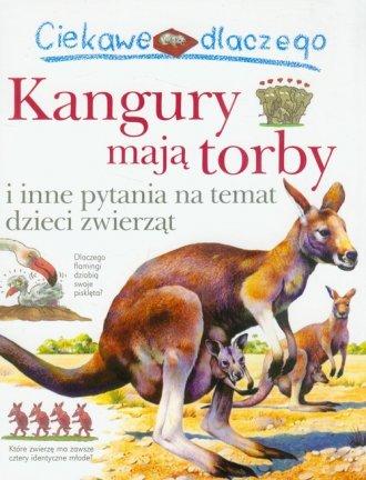 Ciekawe dlaczego kangury mają torby - okładka książki