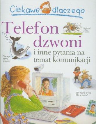 Ciekawe dlaczego telefon dzwoni - okładka książki