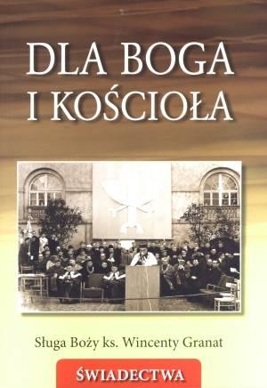 Dla Boga i Kościoła. Sługa Boży - okładka książki